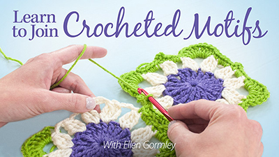 Learn to Join Crocheted Motifs