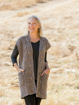 Everly Embossed Vest