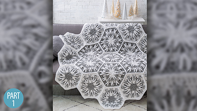 Crochet Skill Builders: Snowy Evening Afghan
