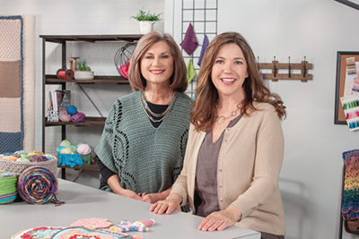 Knit and Crochet Now! co-hosts/producers Connie Ellison and Lena Skvagerson invite you to enjoy expert instruction on the Designer Purses episode.